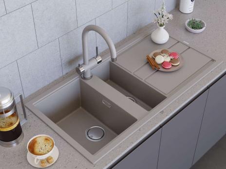 Кухонная мойка Omoikiri Kitagawa 100-2 GR