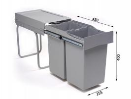 Системы сортировки мусора Alveus Albio 20 2x14L
