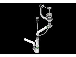 Одинарный сифон компактный Alveus 114-PP-POPUP