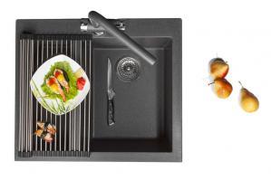 Кухонная мойка Omoikiri Bosen 57-BL_2