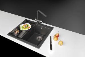 Кухонная мойка Omoikiri Bosen 57-BL_1