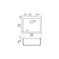 Кухонная мойка Omoikiri Bosen 57-EV_3