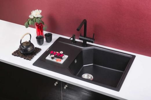 Кухонная мойка Omoikiri Yonaka 78-LB-BL