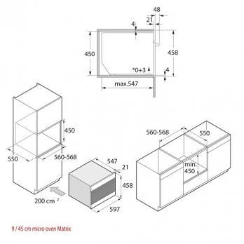Компактный духовой шкаф с свч Asko OCM8487S
