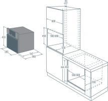 Компактный духовой шкаф с пароваркой Asko OCS8464S_2
