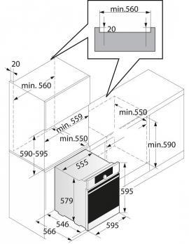 Электрический духовой шкаф Asko OP8664S