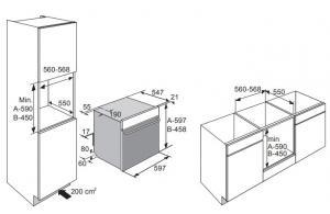 Электрический духовой шкаф с пароваркой Asko OCS8664S_1