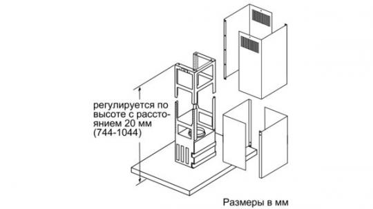 Т-образная вытяжка Neff I96BMV5N5