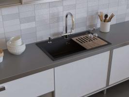 Кухонная мойка Omoikiri Kitagawa 86-LB-GB_1