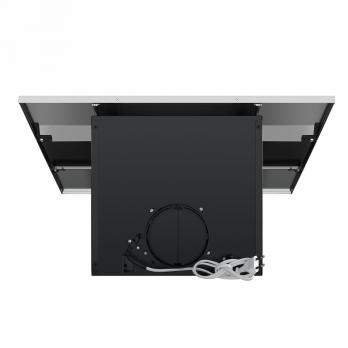 Наклонная вытяжка MAUNFELD BRIDGE 50 INOX Glass Black