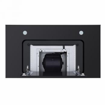 Т-образная вытяжка MAUNFELD NORFOLK 90 INOX/ GLASS Black