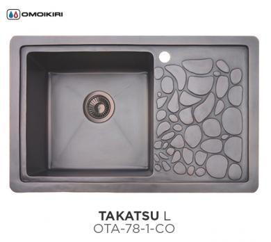 Кухонная мойка Omoikiri Takatsu L OTA-78-1-CO