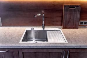 Кухонная мойка Omoikiri Akisame 65-GM-L_1