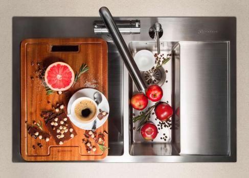 Кухонная мойка Omoikiri Akisame 78-2-LG-R