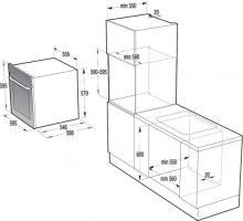 Электрический духовой шкаф Gorenje+ GP979X_1
