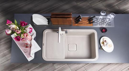 Встраиваемая сушка для посуды DRY-01 GM Omoikiri