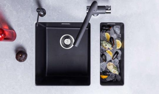 Кухонная мойка Omoikiri Kata 20-U-BL