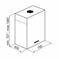 Островная вытяжка KORTING KHA 7950 X Cube_1