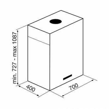 Островная вытяжка KORTING KHA 7950 X Cube