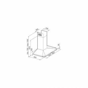 Купольная вытяжка KORTING KHC 6951 X