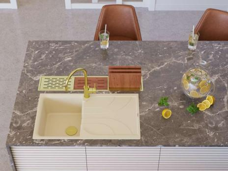 Кухонная мойка Omoikiri Yasugata 86-PL