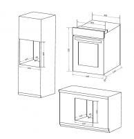 Электрический духовой шкаф MAUNFELD EOEC516W_1