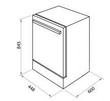 Отдельностоящая посудомоечная машина Maunfeld MWF08B_1