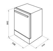 Отдельностоящая посудомоечная машина Maunfeld MWF12S_1