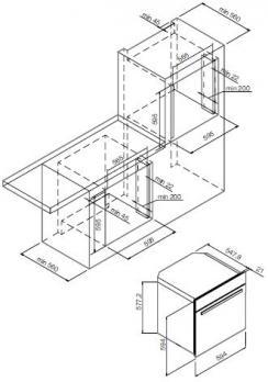 Духовой шкаф GRAUDE  BM 60.3 W