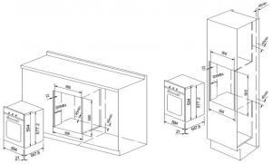 Духовой шкаф GRAUDE BK 60.2 S_2
