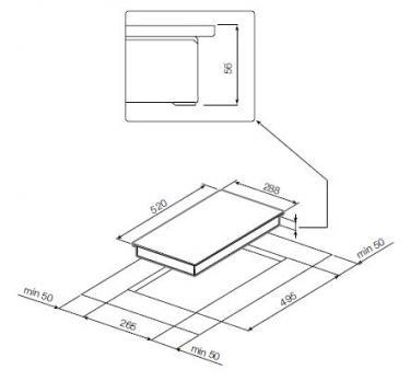 Индукционная варочная панель GRAUDE IK 30.1 S