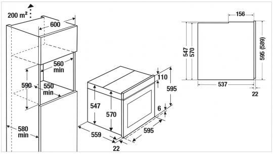 Электрический духовой шкаф Kuppersbusch B 6350.0 S1 Stainless steel