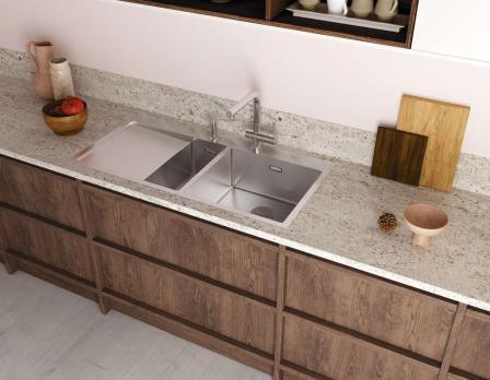 Кухонная мойка Omoikiri Akisame 100-2-LG-L