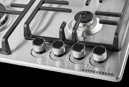 Газовая варочная панель  Kupperberg TS 63 X