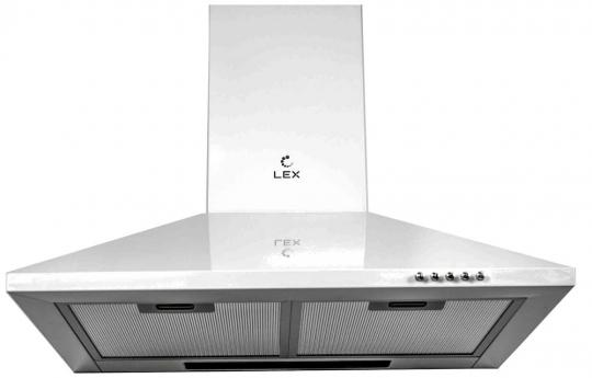Купольная вытяжка LEX BASIC 500 WHITE
