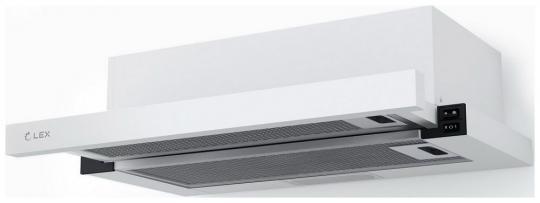 Вытяжка с выдвижным экраном LEX HUBBLE 500 WHITE