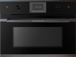 Пароварка Kuppersbusch  CD 6350.0 S2 Black Chrome