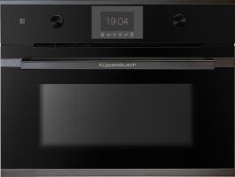 Компактный духовой шкаф c свч  Kuppersbusch CBM 6350.0 S2 Black Chrome