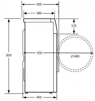Стиральная машина Kuppersberg WIS 50106