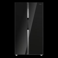 Холодильник-морозильник Side-by-Side MAUNFELD MFF177NFB