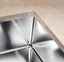 Кухонная мойка Blanco Claron 500-U Нержавеющая сталь_5