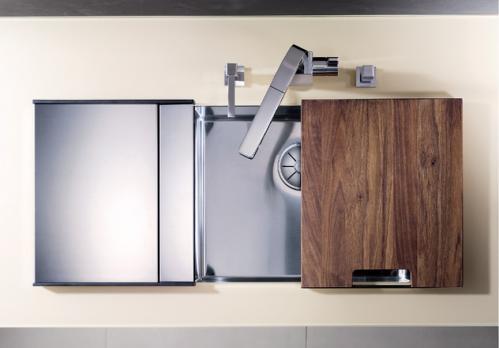 Кухонная мойка Blanco Claron 500-U Нержавеющая сталь