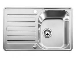 Кухонная мойка Blanco Lantos 45 S-IF Compact Нержавеющая сталь