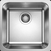 Кухонная мойка Blanco Supra 400-IF Нержавеющая сталь
