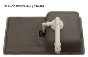 Кухонная мойка Blanco Favos Mini Кофе_4