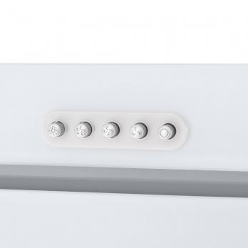 Полновстраиваемая вытяжка Homsair Crocus Push 52 Glass White