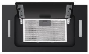Полновстраиваемая вытяжка Homsair Crocus Push 52 Glass Black_5