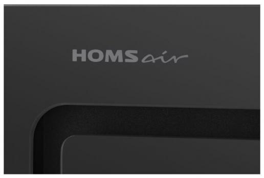 Полновстраиваемая вытяжка Homsair Crocus Push 52 Glass Black