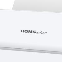 Наклонная вытяжка HOMSAIR Elf 50 Glass White_12