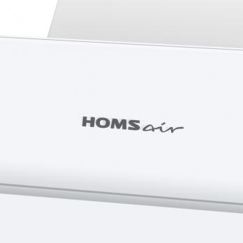 Наклонная вытяжка HOMSAIR Elf 50 Glass White